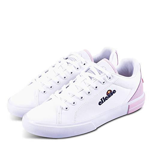 Ellesse Taggia, Chaussures de Fitness Femme, Multicolore (White/Almond Blossom 000), 35.5 EU