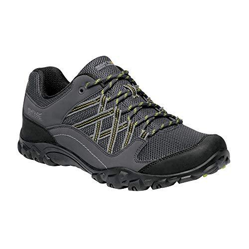 Regatta Chaussures Techniques De Marche Basses Edgepoint III, Zapato para Caminar para Hombre, Ponche De Lima/Brezo, 42 EU
