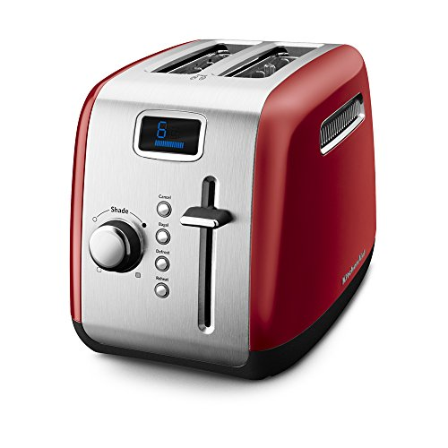 KitchenAid KMT222ER 2-Slice Toaster with Manual High-Lift Lever and...