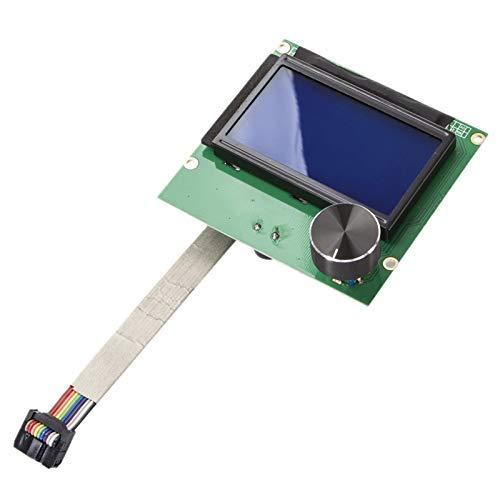 YHtech 1.4 3D Printer Screen Display 12864 Lcd Ender-3 Ramps Screen + Cable For Creality Ender-3 3D Printer Printer Accessories