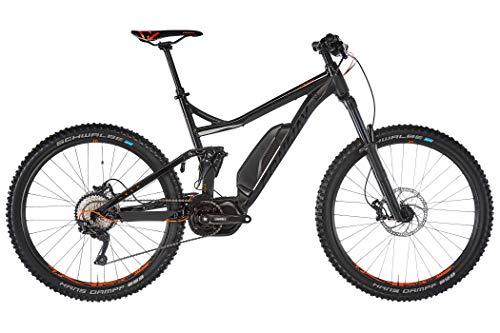 Conway eWME 327 2019 - Bicicleta de montaña eléctrica, Color Negro y Naranja