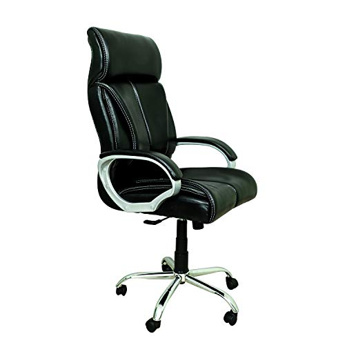 CELLBELL® C54 High Back Revolving Boss Chair [Pure Black]