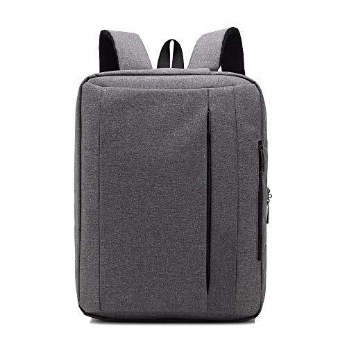BSDK waterdichte laptoptas, 15,6 17,3 inch multifunctionele bagageband design laptop rugzak schoudertas notebook-aktenkoffer