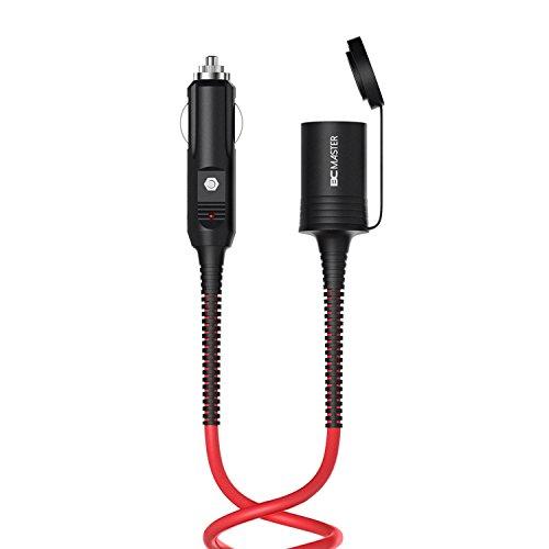 BC Master 4m/4M sicurezza durevole auto accendisigari caricabatteria da auto Cavo di prolunga 12V/24V con cavo di alimentazione per presa accendisigari