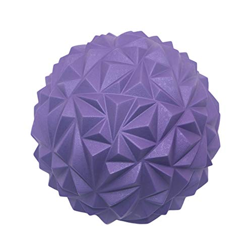 UKSAT Fitness Training Hemisphere,Yoga Ball,Yoga Durian Ball,Balance Stepping Stones Durian Spiky Massage Ball Sensory Integration Indoor Outdoor Games Toys for Children