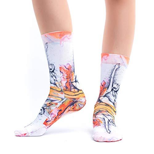 Wigglesteps Damen Socken Pranayamo Gr.36-40