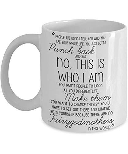 Érase una vez - Emma Swan - Taza de café Idea de regalo de taza para él o sus mujeres y madre Día del padre Hermana Hermano Par