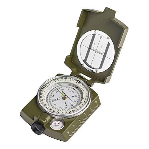 Savlot Draagbaar vouwlenskompas militaire multifunctioneel kompas Lensatic Sighting fluorescent dashboard dashboard dashboard measurer afstandscomputer