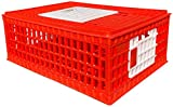 RentACoop Poultry Carrier Crate 29' L x 22' W x 12' H for Chickens