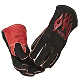 Lincoln Electric Traditional MIG/Stick Welding Gloves | 14' Lined...