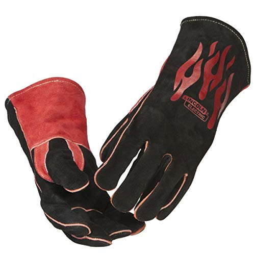 Lincoln Electric Traditional MIG/Stick Welding Gloves | 14