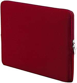 liner package SODIAL R  inch Korean Style Portable Zipper Soft Sleeve Laptop Pouch Bag for Notebook Computer Case Wine Red