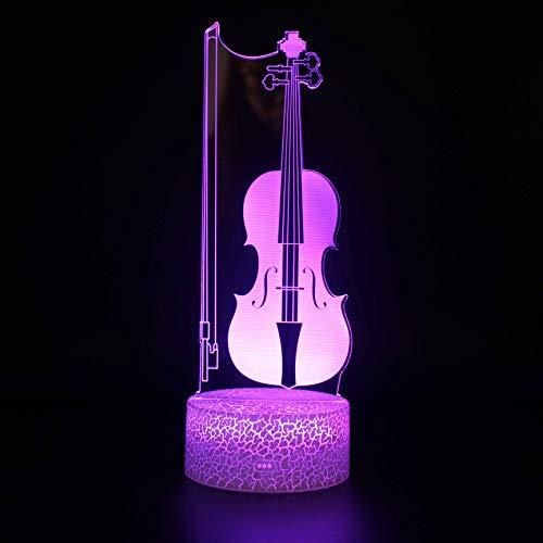 Fantsey Luz nocturna 3D, lámpara de ilusión 3D, 16 cambio de color, lámpara decorativa con mando a distancia para sala de estar, cama, bar, juguetes, regalos para niños y decoración de habitación