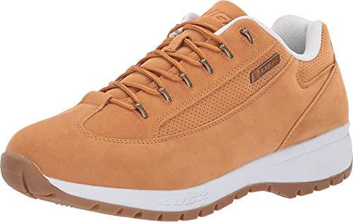 Lugz mens Express Classic Low Top Fashion Sneaker, Golden Wheat/White/Gum, 11 US