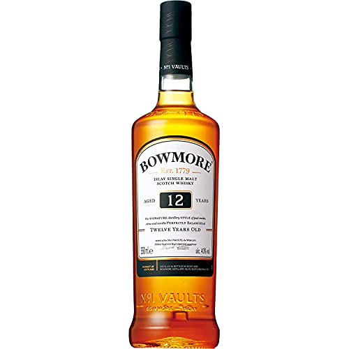 Bowmore 12 Años Whisky Escoces, 700ml