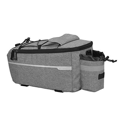N / C Bicycle Rack Rear Carrier Bag, Bike Trunk Bags, Insulated Waterproof Storage Luggage Pouch Reflective Mtb Shoulder Bag, for Warm or Cold Items