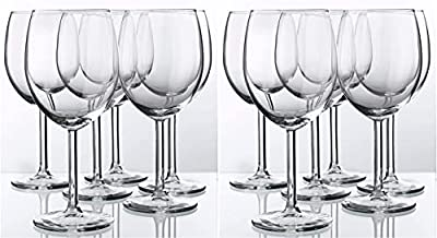 Red Wine Glass By Ikea- Svalka Series SET OF 6