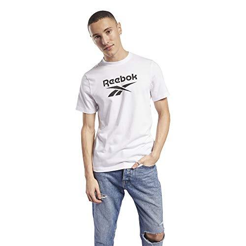 Reebok CL F Vector tee Camiseta, Unisex Adulto, Blanco, XS