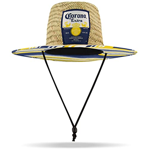 Corona Straw Hat, Brown, One Size