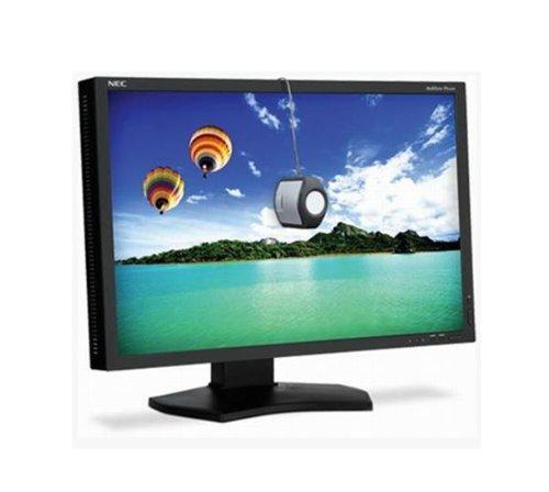 NEC Multisync PA242W 61,1cm 24,1Zoll LCD LED AH-IPS Panel 16:10 340cd 1000:1 6ms 1920x1200 DVI-D HDMI Display Port schwarz