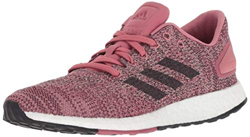 adidas Women's Pureboost DPR Running Shoes, Trace Maroon/Carbon/ash Pearl, 9 M US
