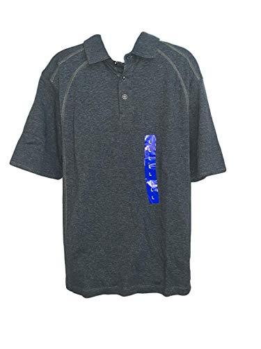 HENRY GRETHEL Men's Polo Shirt, Moss, Large