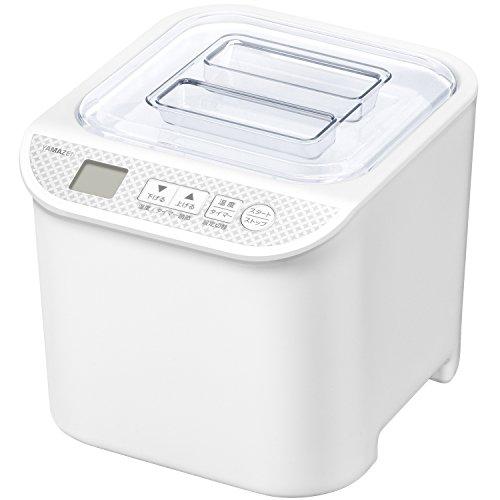 山善 ヨーグルトメーカー 発酵食メーカー 発酵美人 温度調整機能付き レシピブック付き YXA-100(W)
