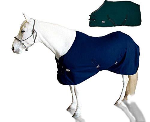Derby Originals Horse Fleece Cooler Blanket Liner with Crossed Surcingles and Double Buckle Chest