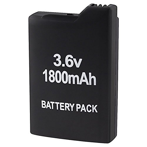 LASUS FOR SONY PSP 1000 1001 High capacity 1800mAh Extended Rechargeable Battery US