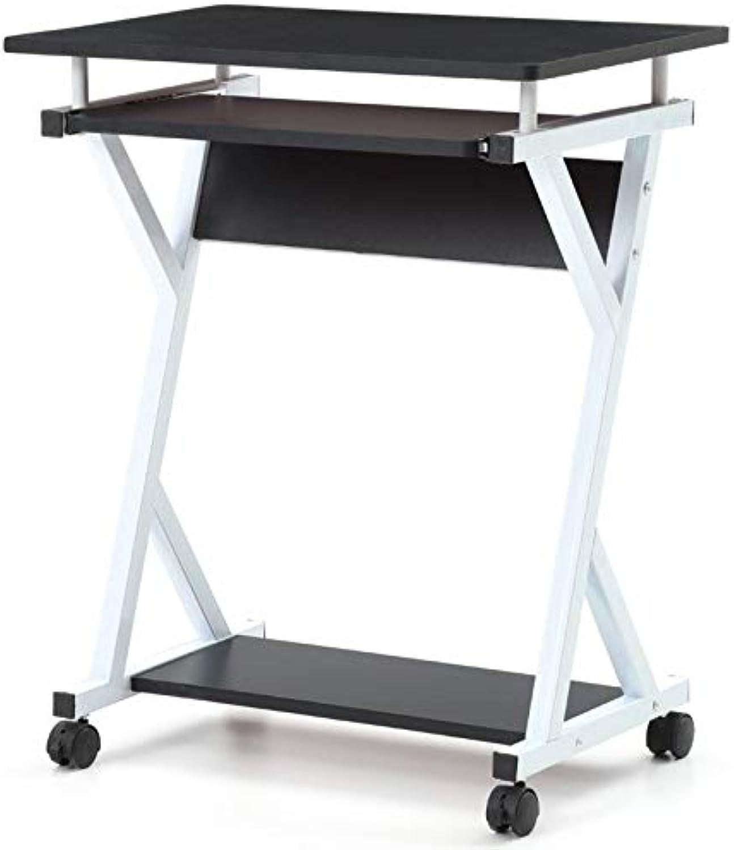 Pemberly Row Laptop Desk in Black
