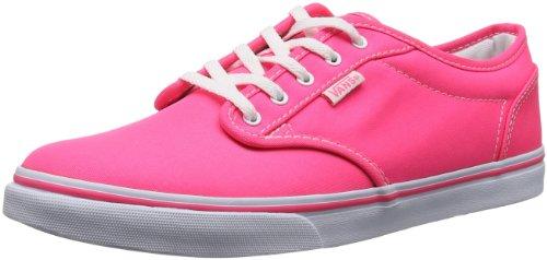 Vans W ATWOOD LOW VNJO6AQ Damen Sneaker Pink ((Neon) pink/whi) 34.5