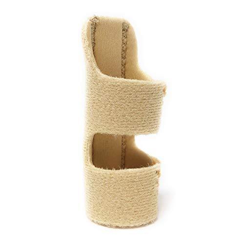 LUSAS 指サポーター ばね指サポーター 整骨院の先生推奨 バネ指 腱鞘炎 突き指 指固定 保護 フリーサイズ ベージュ