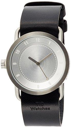 [incorporado reloj] tid Watches funda reloj especial Novelty bolsa viene con una garantía extendida con tid01–36SV/BK Tote [Regular importados]