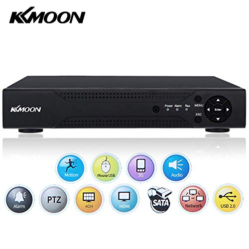 Video Recorder,KKmoon 4CH Channe...
