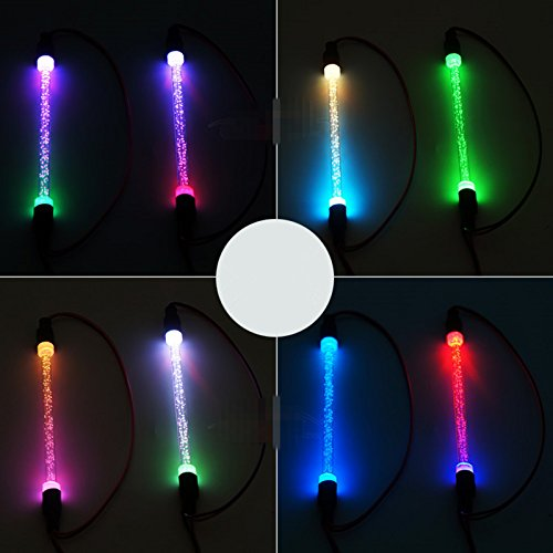 ZuoLan 1 paire Colorful 1/10 RC Voiture Truck Buggy Chassis Body LED Tube Light Strip
