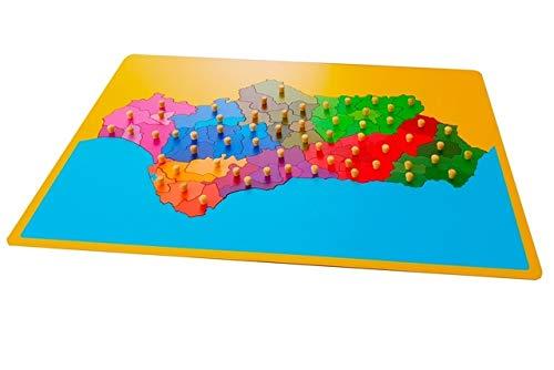 Puzzles  Mapa De Andalucia
