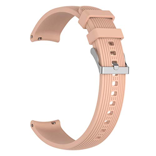 Buwei ForCell Phone Watch Active Watch 3 Correa de Silicona con Rayas Rectas de 41 mm 20