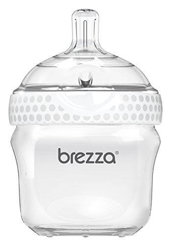 Baby Brezza Two Piece Natural Baby Bottle