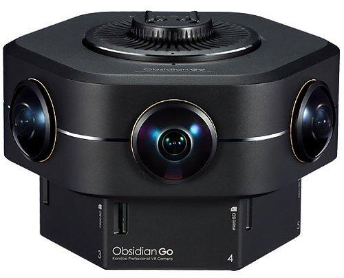 KanDao Obsidian GO - Ihre erste professionelle 4K/ 8K 3D 360 VR Kamera