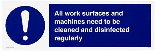 Alle Arbeitsflächen und Maschinen