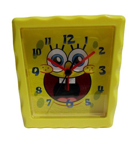 Officially Licensed Nickelodeon SpongeBob SquarePants Alarm Clock