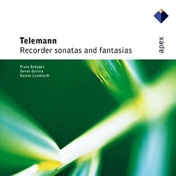 Telemann : Recorder Sonatas & Fantasias  -  Apex