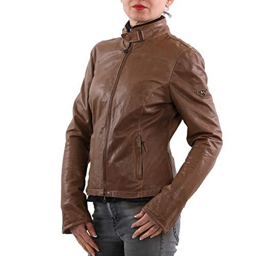 Matchless Damen Leder Jacke Osborne Blouson Mountain Brown 123116 Größe (44) M