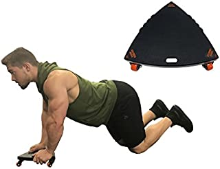 Core Coaster - Ab, Core and Total Body Wheel Ab Roller Exercise System (Single)