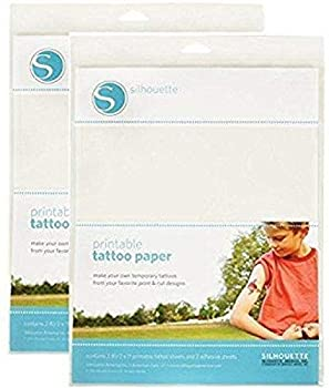 Silhouette Temporary Tattoo Paper  2 pack
