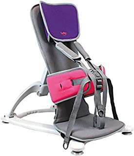 Firefly by Leckey GoTo Postural Support Seat - Lightweight Portable Supportive Seat for Children with Special Needs – Floorsitter and Standard Headrest - Purple, Size 2