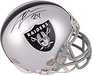 Charles Woodson Oakland Raiders Signed Autograph Mini Helmet Steiner Sports Certified