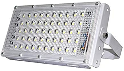 Gesto Metal 50 Watt 220-240V Waterproof Landscape IP65 Perfect Power LED Flood Light (White),Pack of 1