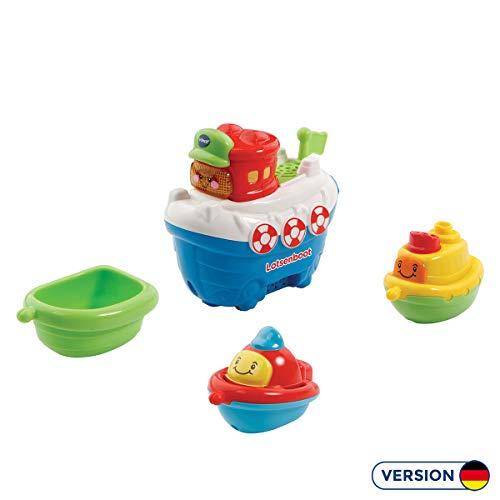Vtech 80-500304 80-500304-Tut Baby Badewelt-Lotsenboot mit Freunden