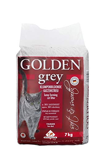 Cominter Animal Health Arena Aglomerante Golden Grey 7Kg 7000 g, Talla única